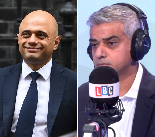 Sadiq Khan criticised the language from the Home Secretary