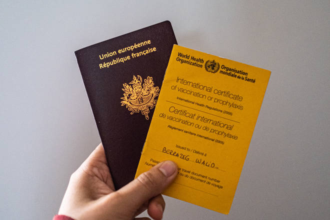 'Vaccine passports' may be a condition of returning to normality