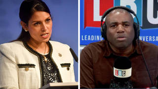 David Lammy's criticism of 'wicked' Priti Patel's opposition to BLM