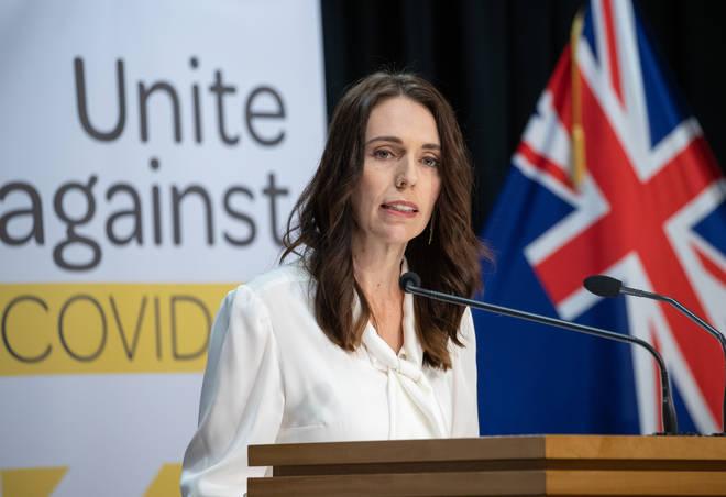 Jacinda Ardern announced on Sunday a three-day lockdown for Auckland
