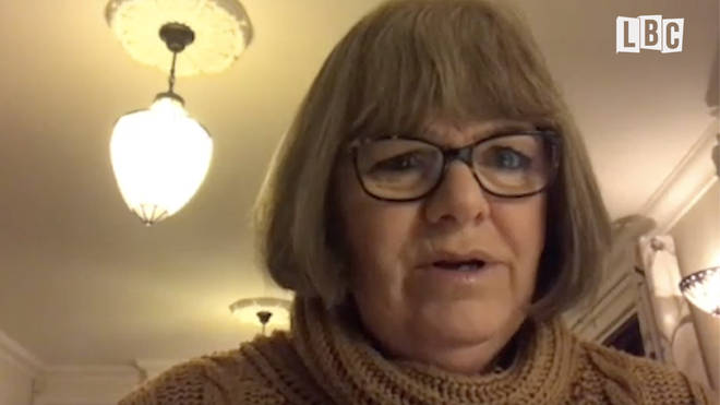 Jo Fisher, from West Sussex, has had to fight for her 27-year-old son, who's in a care home, to get the vaccine