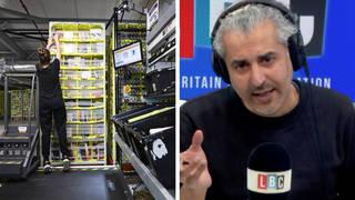 Maajid Nawaz lambasts big tech crushing worker's attempts to organise