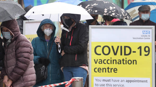 Over 15m people have now been vaccinated in the UK