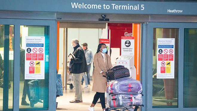 Hotel quarantine began in the UK from 15 February