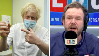 James O'Brien reacts to Boris Johnson's lockdown roadmap announcement