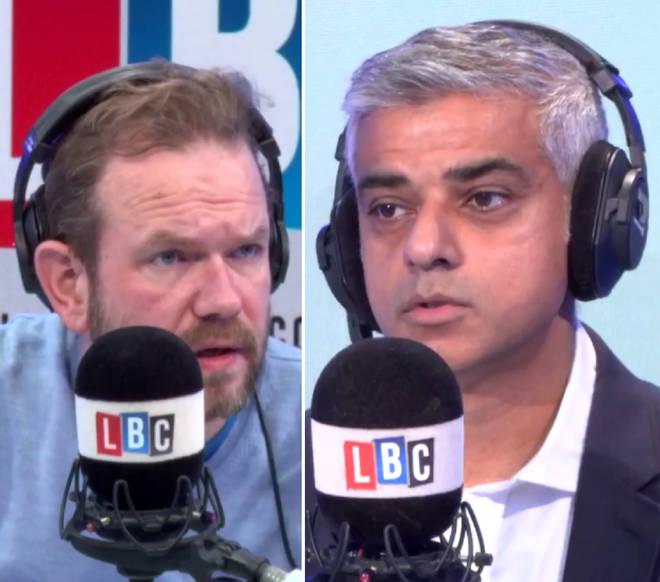 "James O&squot;Brien accused Sadiq Khan of a ""cop out"""