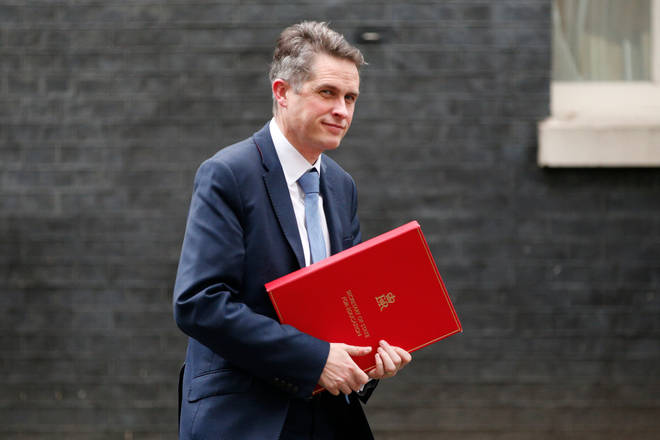 Gavin Williamson announced a series of proposals to strengthen academic freedom at universities in England