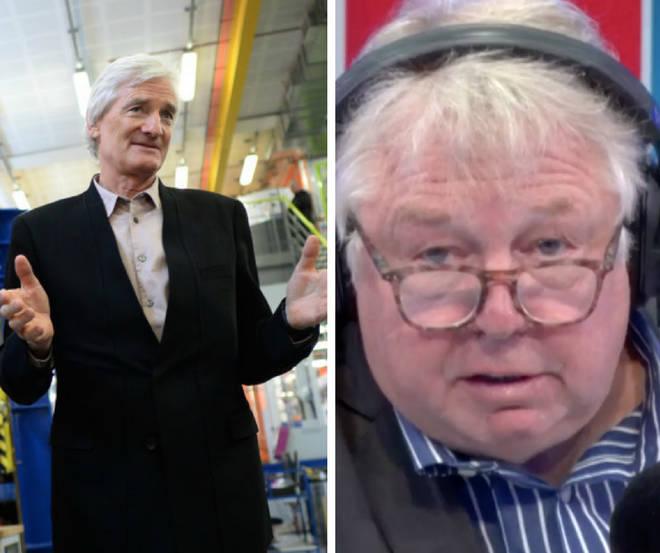 Nick Ferrari slammed Sir Jame Dyson over his post-Brexit snub