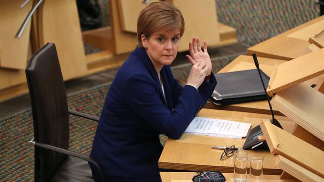 Nicola Sturgeon addressed MSPs on Scotland's lockdown on Tuesday