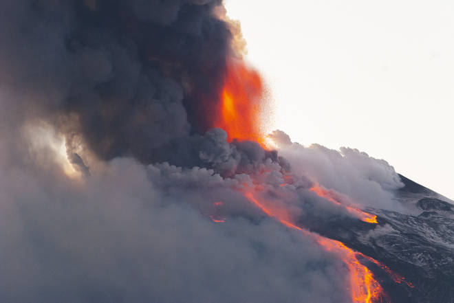 Etna is the tallest active volcano in Europe