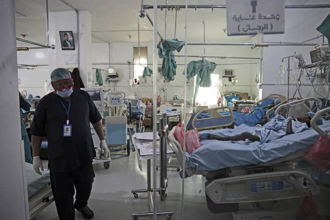 War-torn Yemen has seen their ICU wards overwhelmed.