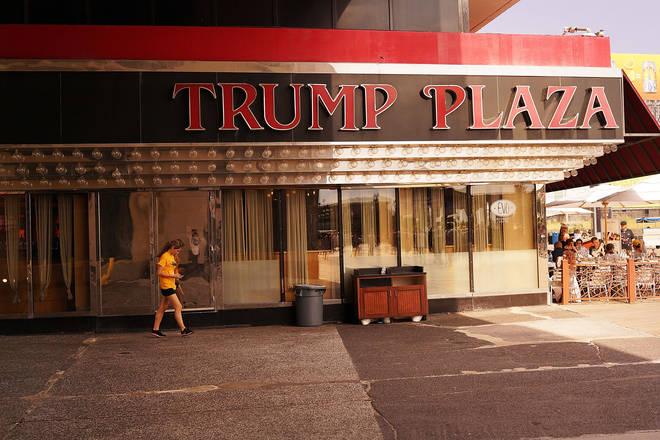 The Trump Plaza casino closed in 2014