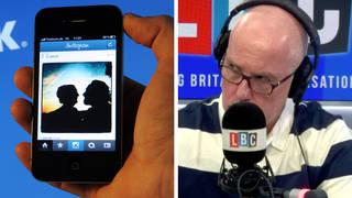 'I was on social media for 17 hours per day on average' caller tells LBC