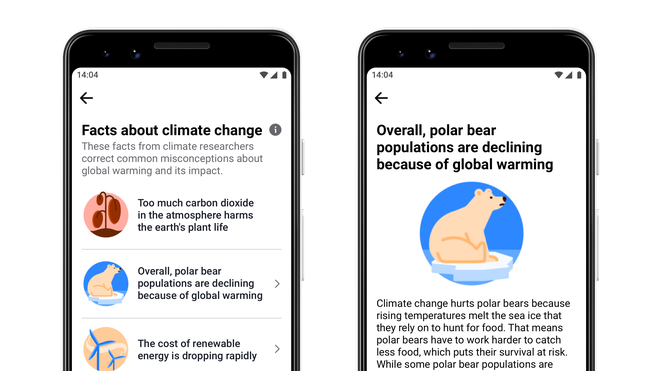 Facebook's new climate change myth busters