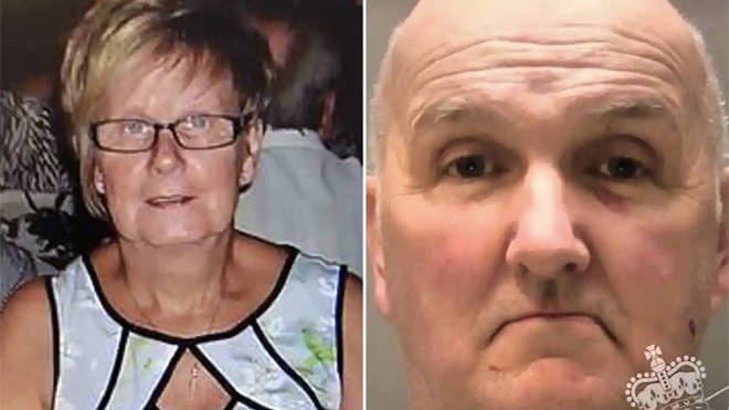 Anthony Williams has been jailed for strangling his wife Ruth