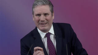 Sir Keir Starmer set out Labour's vision today