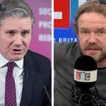 James O'Brien clashes with socialist caller over Keir Starmer's economy speech