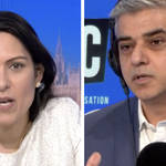 Sadiq Khan responds to Priti Patel's accusations he prioritises 'statues over saving lives'