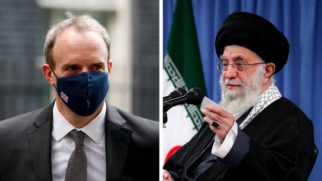Dominic Raab has joined Western leaders to demand Iran comply with the 2015 nuclear deal