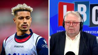 Nottingham Forest's Lyle Taylor spoke to LBC's Nick Ferrari