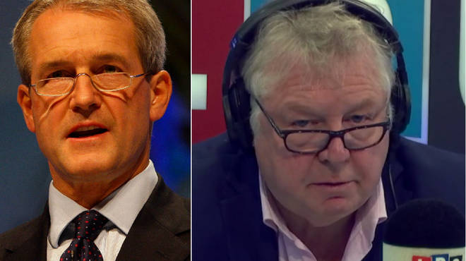 Owen Paterson spoke to Nick Ferrari