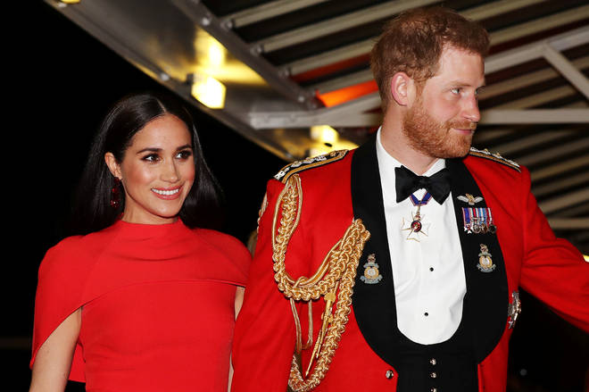 The Duke and Duchess of Sussex have lost some of their official titles