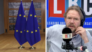 'Brexit red tape means I still can't sell to EU and NI,' cheese producer tells James O'Brien