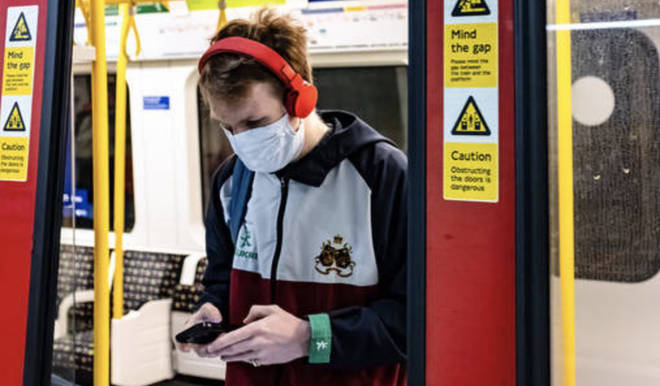 No traces of Covid-19 were found on a busy London Underground route