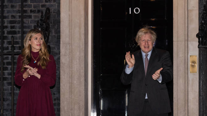 """The Bow Group called for a review to clarify the """"position and authority"""" of the Prime Minister's fiancee, amid concern over her influence within Number 10"""