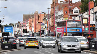 Two arrests were made after the incident in Birmingham (file image)