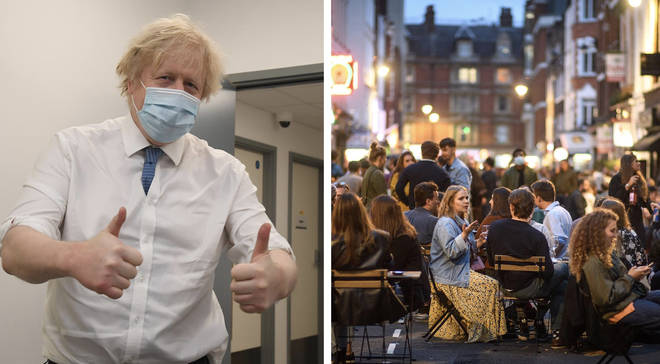 Boris Johnson is to announce a 'cautious' easing of lockdown tomorrow.