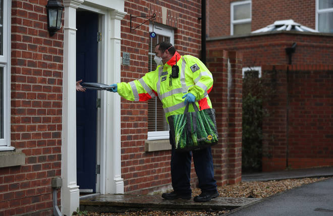 Surge testing is being carried out in areas across the UK where new variants have been found.