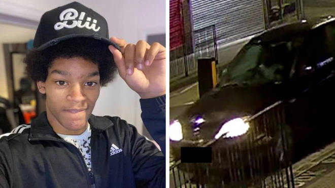 A teenage boy is believed to have had a car driven at him before being stabbed to death
