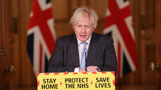 """Boris Johnson is set to announce his """"roadmap"""" out of lockdown on Monday"""