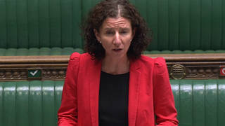 Shadow chancellor Anneliese Dodds said just three in 10 people who should be self-isolating are doing so, arguing that expanding the support system would improve compliance