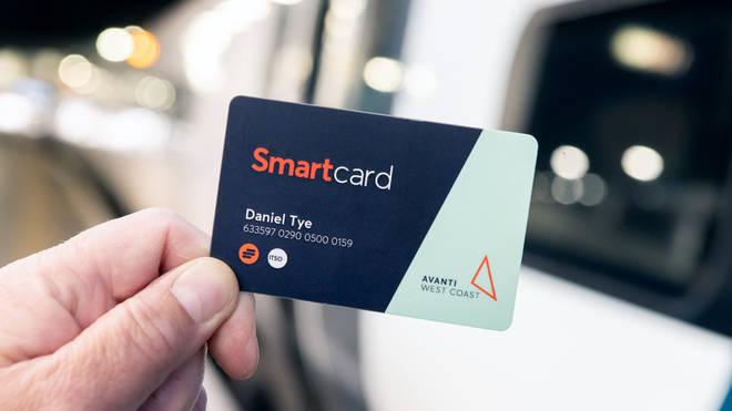 Avanti West Coast's new smartcard
