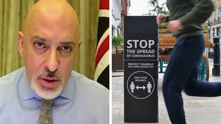 """Vaccines minister Nadhim Zahawi told LBC that it is """"outdoors versus indoors"""" when relaxing lockdown"""