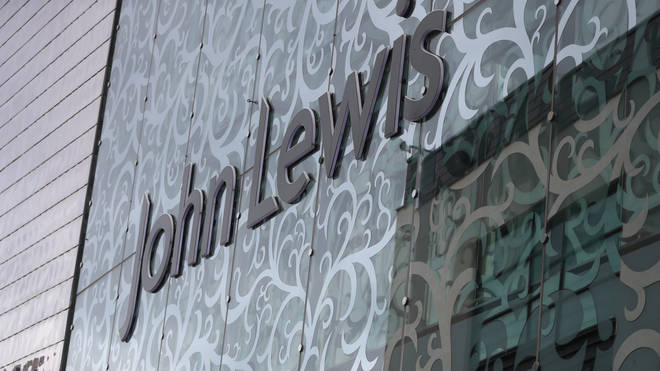 John Lewis sign in Leicester