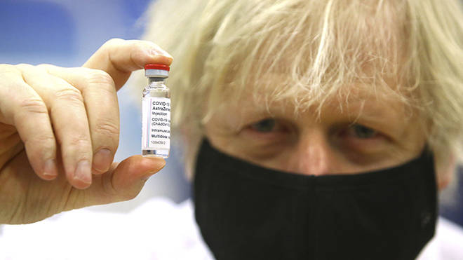Boris Johnson says more restrictions can be lifted if the vaccine continues to be a success