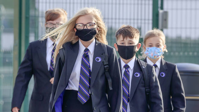 Secondary school children will be advised to wear masks unless social distancing can be maintained