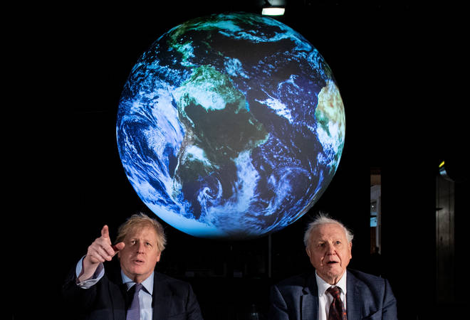 Boris Johnson and other world leaders will hear argument from Sir David Attenborough at a UNSC meeting