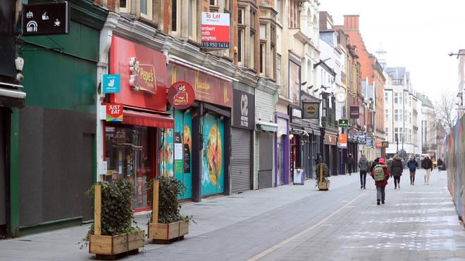 A high street