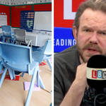 James O'Brien caller: Boris Johnson has thrown teachers under the bus