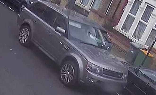 The grey Range Rover Sport police are trying to trace