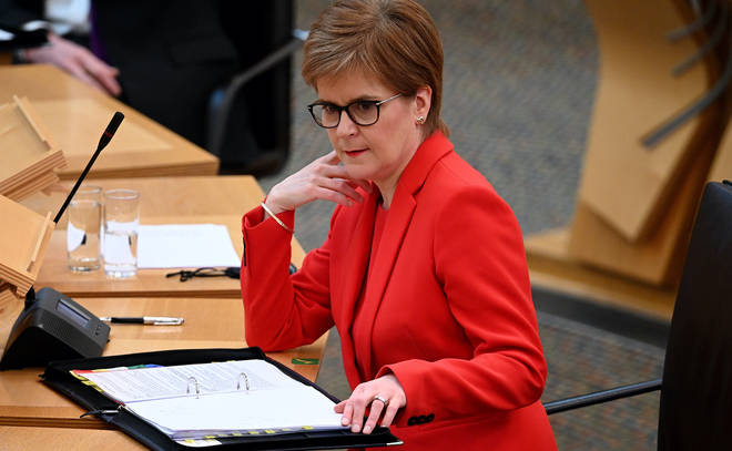 Nicola Sturgeon will reveal Scotland's route out of lockdown today
