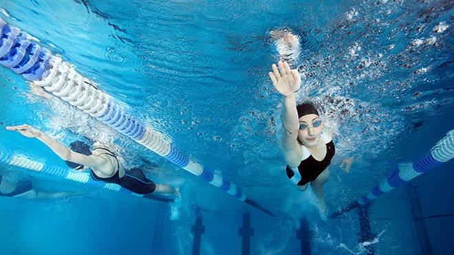 Swimming pools will be reopening in England within the next two lockdown steps