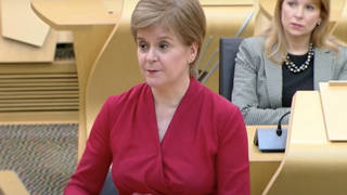 Nicola Sturgeon has set out her own vision for getting Scotland out of lockdown