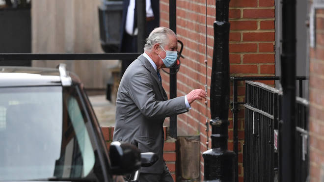 His eldest son Prince Charles has so far been the only family member to have visited him
