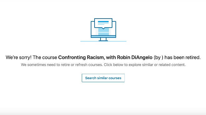 The course was available on LinkedIn Learning but has since been taken down