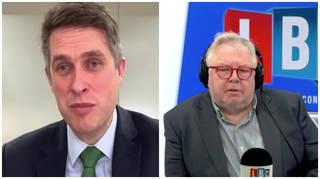 Education Secretary Gavin Williamson spoke to LBC's Nick Ferrari
